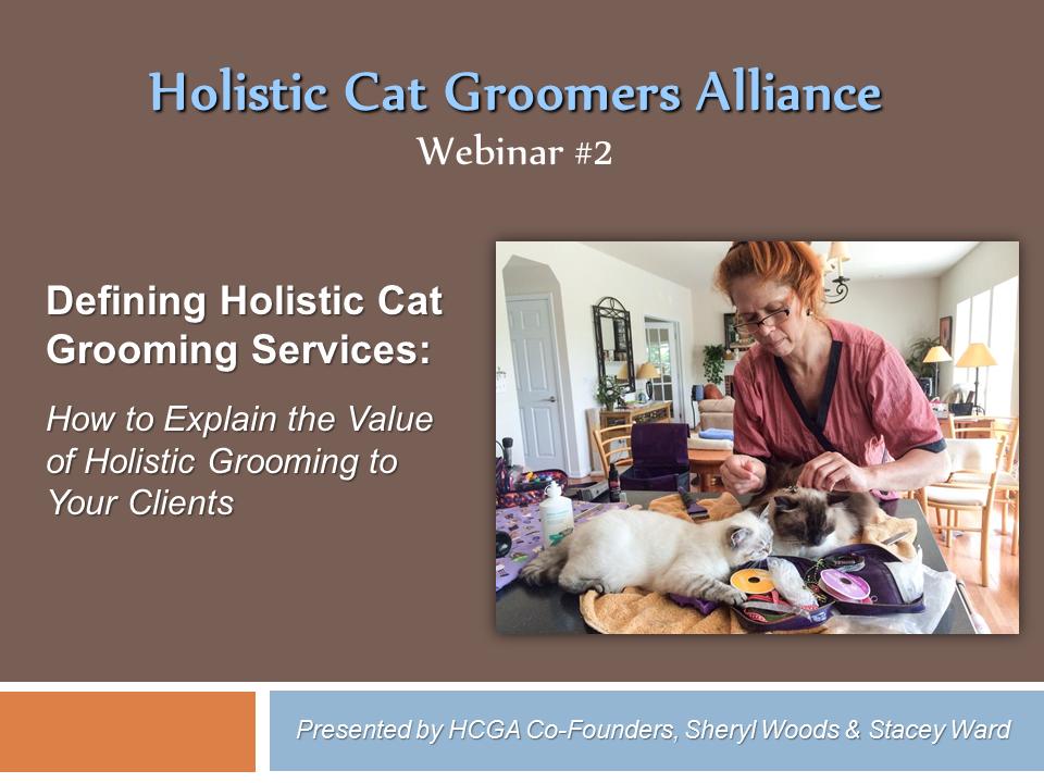 HCGA Webinar 2: Defining Holistic Cat Grooming Services